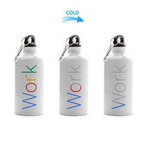 17oz Logo Color Changing Aluminum Bottle